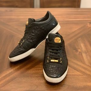 Versace men's fashionable sneakers loafers